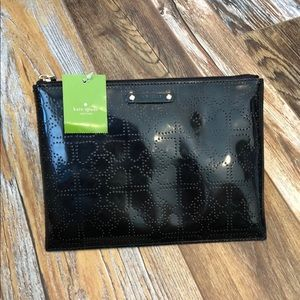 Kate Spade Large Patent Leather Pouch